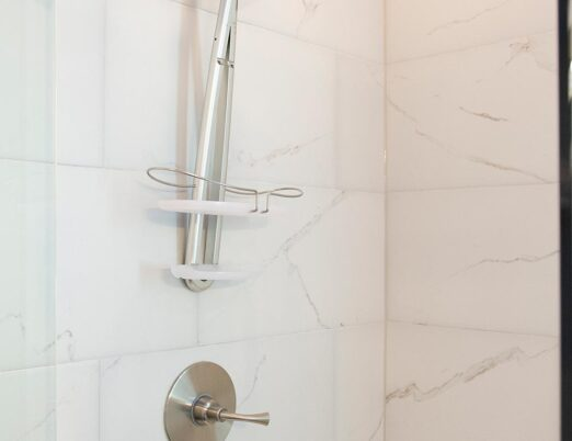 an accessible bathroom shower